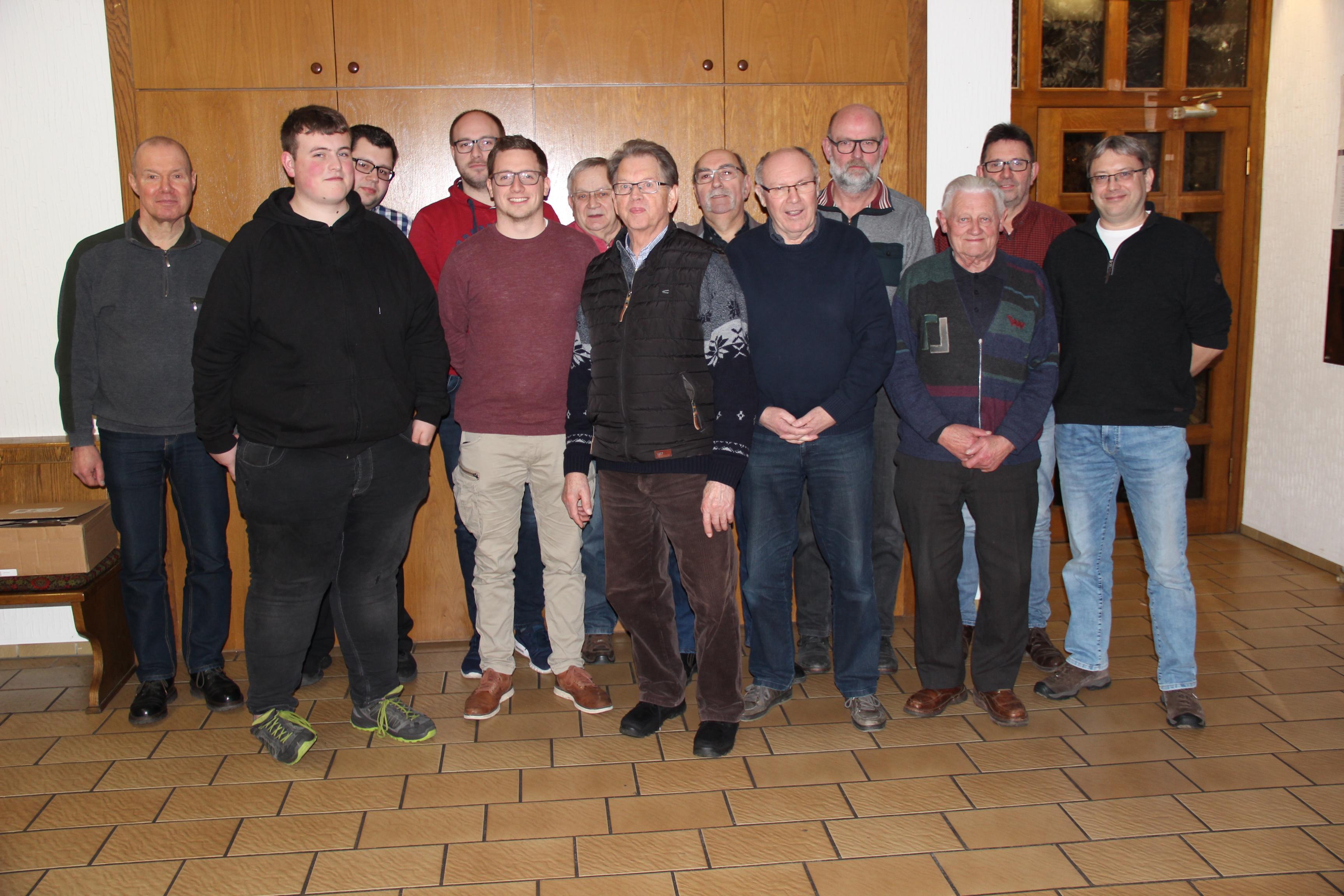 Vereinsversammlung 2019 SSC Hoeingen